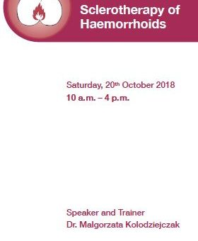 Compact training course in Sclerotherapy of Haemorrhoids