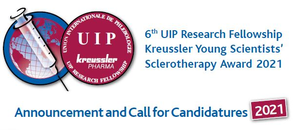 6th UIP Research Fellowship Kreussler Young Scientists' Sclerotherapy Award 2021